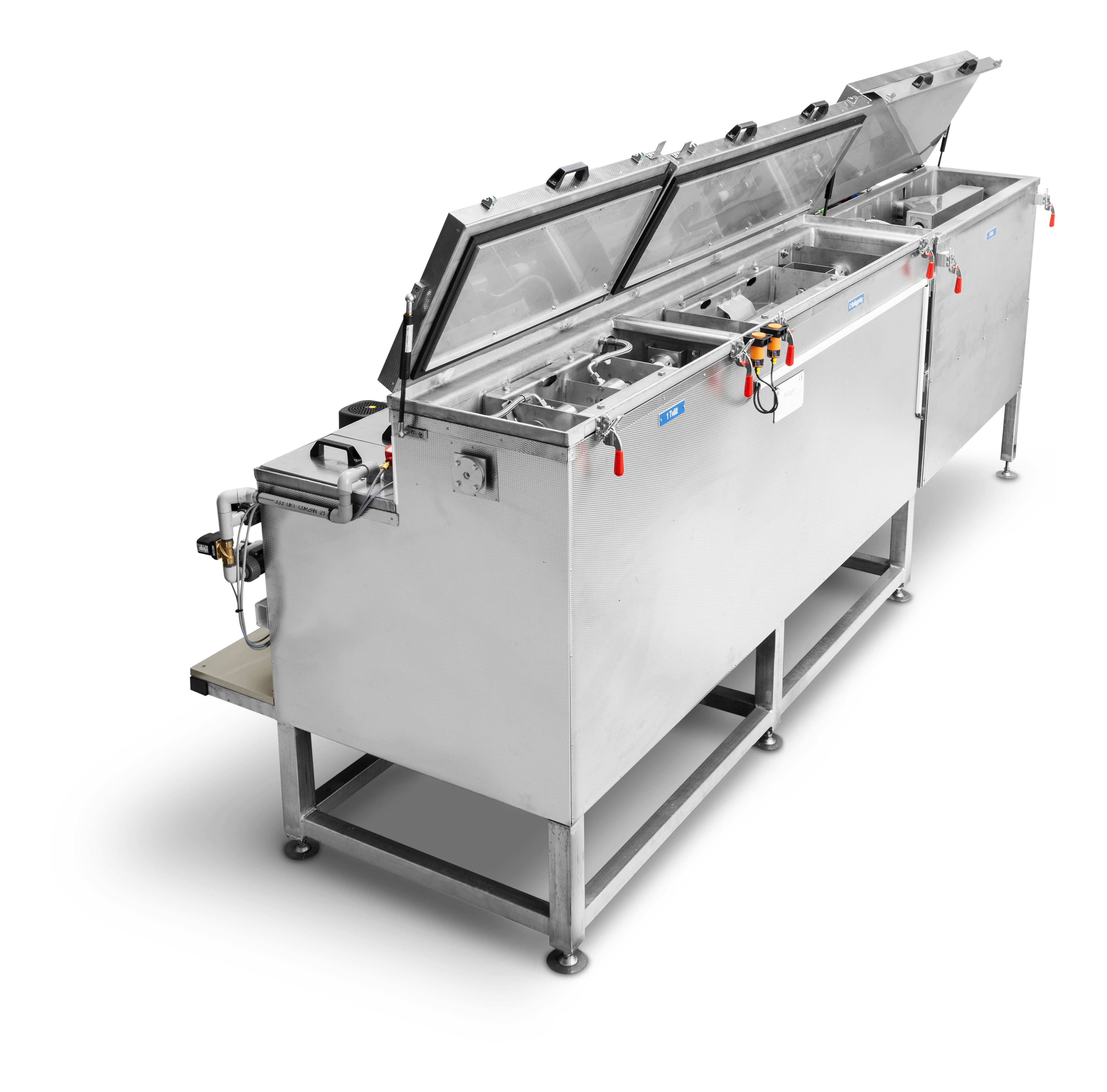 Candocoat – Cleaning and Lubricant Coating machine