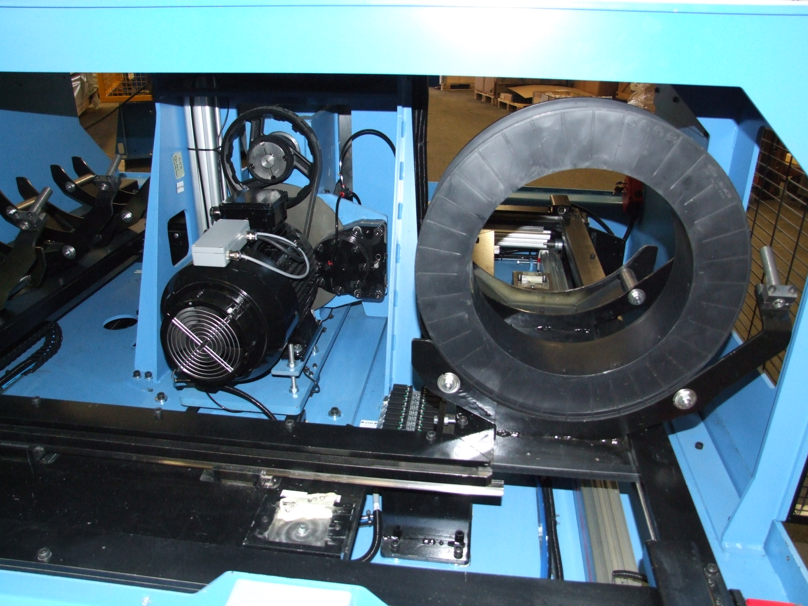 Automatic Spooling Machine (ASPM 460 – 100) – Lämneå Bruk AB