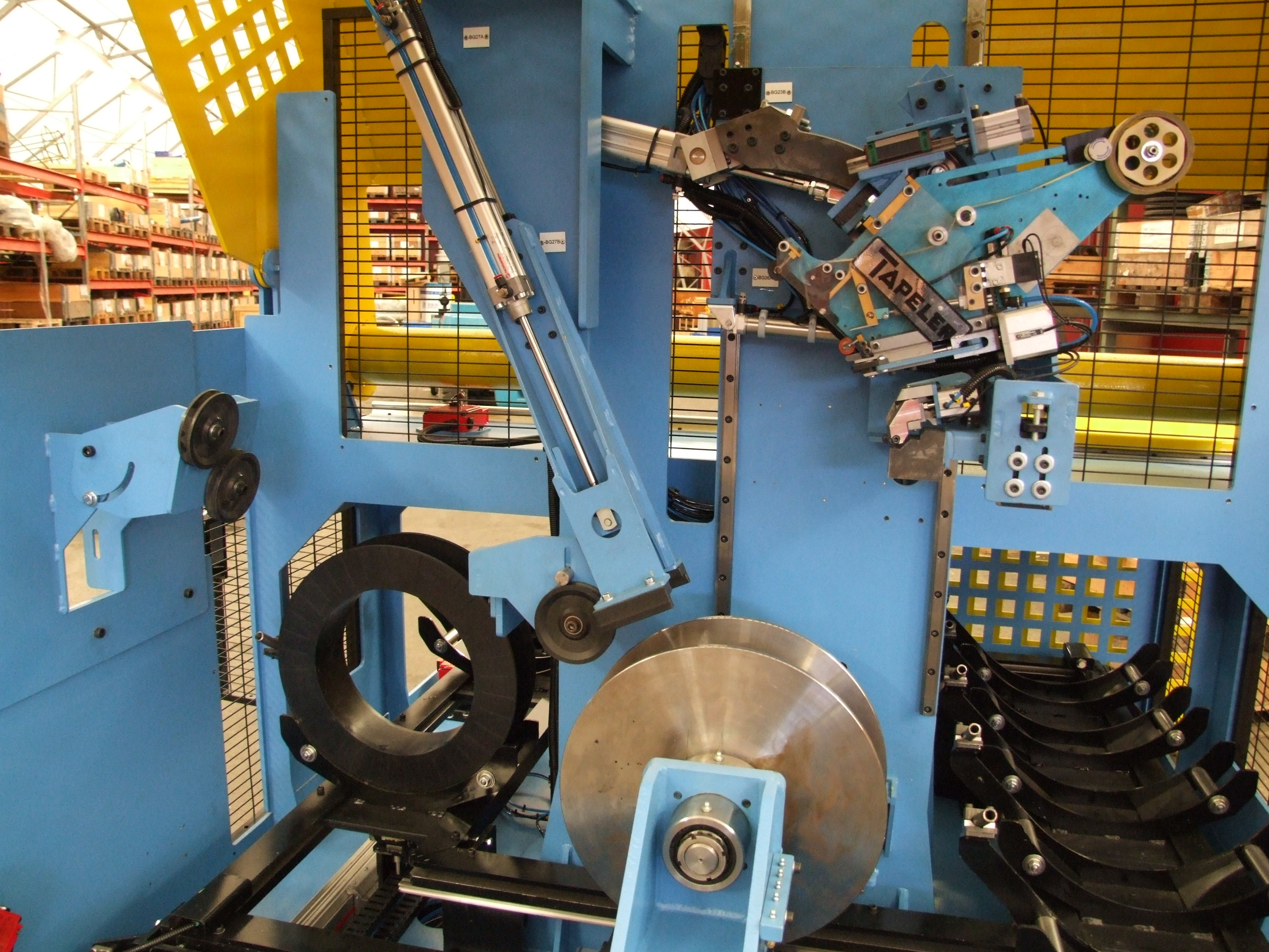Automatic Spooling Machine (ASPM)