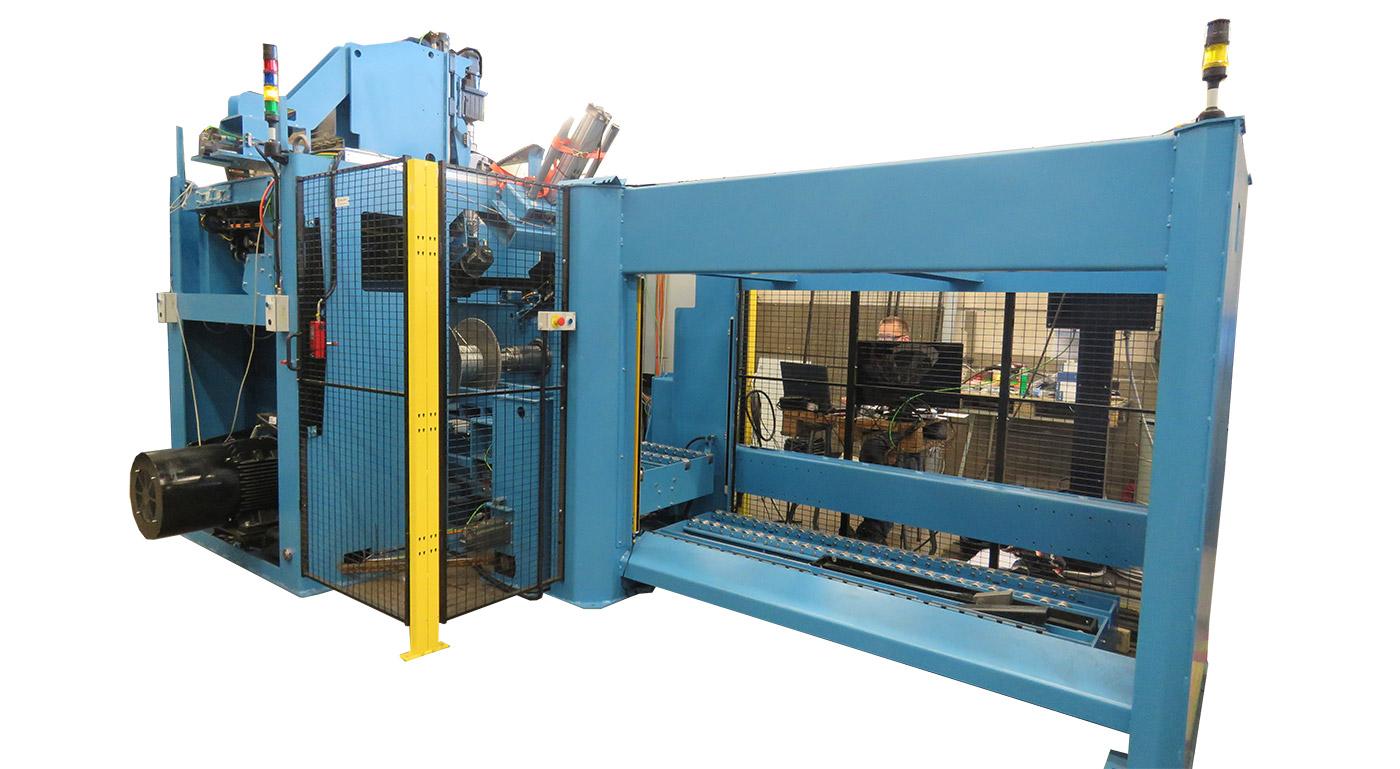 Automatic Spooling Machine Horizontal (ASMH)